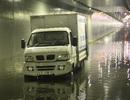 Hầm chui Điện Biên Phủ lại ngập nước
