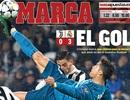 Báo chí thế giới ngả mũ thán phục trước tài năng của C.Ronaldo