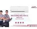 LG tiếp tục thực hiện chương trình bảo dưỡng điều hòa miễn phí cho khách hàng