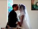 Bị cá sấu cắn cụt tay, cô dâu vẫn đến lễ đường sau tai nạn 5 ngày