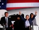 Tổng thống Trump đích thân đón 3 công dân Mỹ được Triều Tiên phóng thích