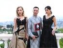 NTK Đỗ Trịnh Hoài Nam gặp gỡ mỹ nhân từng có bức ảnh đẹp ở Cannes