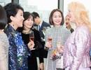 Hoa hậu Hải Dương tự tin mặt mộc tham dự sự kiện do chính phủ Hàn Quốc tổ chức