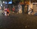 Sau cơn mưa đầu mùa, nhiều tuyến đường Hà Nội thành sông!