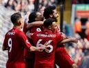 """Liverpool 4-0 Brighton: Salah giành """"Chiếc giày vàng"""", Liverpool xếp hạng tư"""