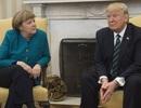Ông Trump mời bà Merkel thăm phòng ngủ ở Nhà Trắng