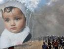 Xót xa em bé 8 tháng tuổi thiệt mạng vì hơi cay của binh lính Israel