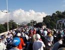 Người dân bức xúc vì thi công cầu Sông Chùa gây ách tắc giao thông!