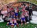 Atletico ngập tràn hạnh phúc trong lần thứ ba vô địch Europa League