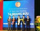 Vinh danh 3 nhà khoa học nhận Giải thưởng Tạ Quang Bửu năm 2018