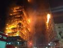 Tòa nhà 26 tầng ở Brazil đổ sập vì hỏa hoạn