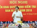 Ban Bí thư kiểm tra Ban Cán sự Đảng Bộ Thông tin và Truyền thông