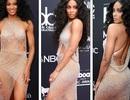Ciara bốc lửa với váy xuyên thấu