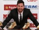 Giành giải Chiếc giày vàng châu Âu, Messi lập kỷ lục mới