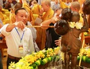 Linh thiêng lễ tắm Phật tại ngôi chùa lớn nhất Việt Nam