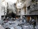Thủ đô Syria hoang tàn sau 7 năm chìm trong bom đạn