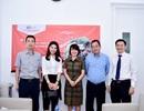 BTV Ngọc Trinh ghi danh tham gia khóa học Thạc sỹ Quản trị kinh doanh