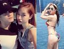 """Linh Chi gọi Lâm Vinh Hải là chồng; Hoa hậu Lê Âu Ngân Anh khoe 3 vòng """"bỏng mắt"""""""