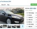 4 chiếc ô tô Ford cũ số tự động này đang rao bán tầm giá 400 triệu đồng tại Việt Nam