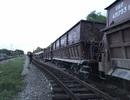 Tàu hỏa trật bánh khỏi đường ray, toa tàu tông gãy cột đèn, lật nghiêng