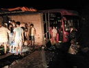Xe khách đâm vách núi trong đêm, nhiều người bị thương
