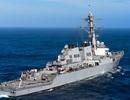 Hai tàu chiến Mỹ tuần tra sát quần đảo Hoàng Sa