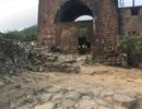 Xuất hiện nhiều dấu tích cổ về thành quách ở di tích Hải Vân Quan