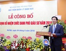 Bí thư huyện ủy Vân Hồ được bổ nhiệm Phó giáo sư tại Học viện Quản lý giáo dục