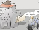 Cán bộ công an mà lại xây công trình trái phép?