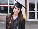 Mie Nguyễn - Hot girl Việt tại Mỹ nhận bằng tốt nghiệp loại giỏi