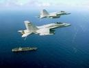 Máy bay, tàu chiến Mỹ áp sát bán đảo Triều Tiên trước cuộc gặp Trump-Kim