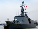 """Tàu chiến """"tàng hình"""" của Pháp cập cảng Sài Gòn"""