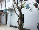 Khắc phục mảng tường bị bong tróc ở ngôi kiến trúc Pháp 100 năm tuổi ở Huế