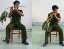 Biệt tài thổi sáo bằng cành cây đu đủ của chàng trai 9X
