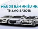 Top 10 mẫu xe bán nhiều nhất tháng 5/2018