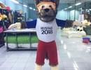 """Đồ lưu niệm World Cup: Đi """"săn"""" mỏi mắt không thấy, mua online ship tận nơi"""