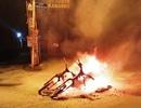 2 xe máy bị đốt cháy rụi nghi do... trận hòa Bồ Đào Nha - Tây Ban Nha