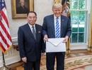 """Ông Trump tiếp """"trùm"""" tình báo Triều Tiên tại Nhà Trắng"""