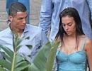 Sát giờ tập trung World Cup, C.Ronaldo vẫn tranh thủ hò hẹn bạn gái xinh đẹp