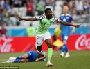 Nigeria 2-0 Iceland: Cú đúp của Musa
