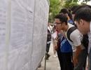 Thí sinh hớn hở trong buổi làm thủ tục thi THPT quốc gia