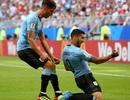 """Uruguay 3-0 Nga: """"Song sát"""" Suarez, Cavani lập công"""