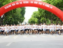 """1.500 vận động viên tham gia giải chạy """"Gia đình chạy vì tương lai"""""""