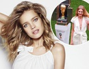 Từ cô gái bán hoa quả ngoài chợ, thành người mẫu nâng tượng vàng World Cup