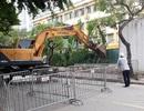 Hà Nội: Cưỡng chế công trình không phép trên mương Phan Kế Bính