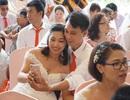 Tổ chức đám cưới tập thể cho 41 cặp đôi khuyết tật