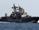 Tàu chiến Hạm đội Thái Bình Dương Nga thăm cảng Cam Ranh