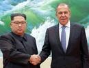 Bức ảnh chụp ông Kim Jong-un gây tranh cãi ở Nga