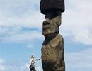 Những chiếc mũ đá nặng 13 tấn đặt trên đầu bức tượng bí ẩn ở Đảo Phục Sinh