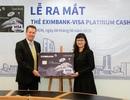 """""""Dùng thẻ chi tiêu, nhận ngay tiền thưởng"""" cùng thẻ tín dụng Eximbank – Visa Platinum Cash Back"""